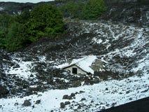 Sui pendii di Etna Fotografia Stock
