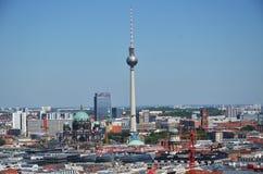 Sui tetti di Berlino Immagini Stock Libere da Diritti