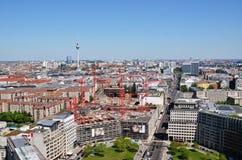 Sui tetti di Berlino Fotografia Stock