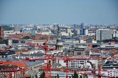 Sui tetti di Berlino Immagine Stock Libera da Diritti