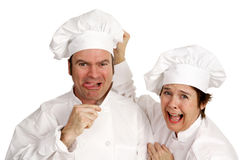 Suicidal Chef Royalty Free Stock Images