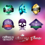 Suicide badge mad Royalty Free Stock Photos