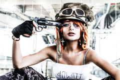 Free Suicide Military Woman Army Royalty Free Stock Photo - 61548075