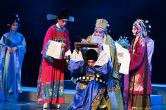 "A suicide note-Record of Southern Bough-jiangxi opera""four dreams of linchuan"" Stock Image"
