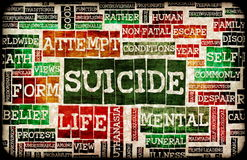Suicidio Immagine Stock