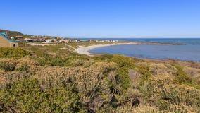 Suiderstrand Coastal village Royalty Free Stock Photos