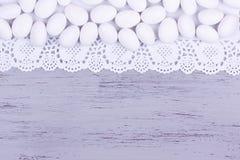 Suiker met een laag bedekt amandelsuikergoed Royalty-vrije Stock Foto's