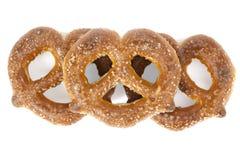 Suiker met een laag bedekte knoopvorm Stock Fotografie