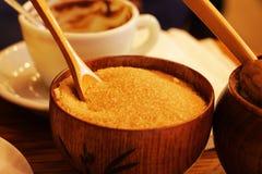 suiker voor koffie Royalty-vrije Stock Afbeeldingen
