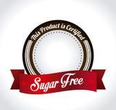 Suiker vrij ontwerp Royalty-vrije Stock Foto's