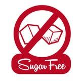 Suiker vrij ontwerp Stock Foto's