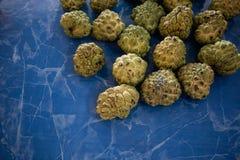 Suikerappel of van de vlaappel type van tropische verse vruchten stock foto's
