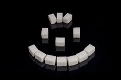 Suikerglimlach Stock Afbeeldingen