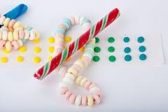Suikergoed Stock Foto's