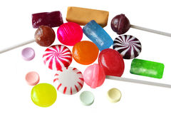 Suikergoed Royalty-vrije Stock Afbeeldingen