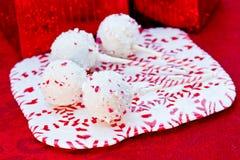 Suikergoed Cane Cake Pops Royalty-vrije Stock Foto