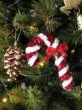 Suikergoed Cane Christmas Royalty-vrije Stock Afbeelding