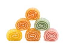 Suikergoed dat op witte achtergrond wordt geïsoleerde Royalty-vrije Stock Afbeelding