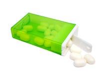 Suikergoed in doos Stock Afbeelding