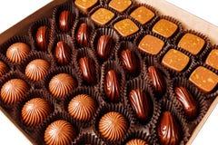 Suikergoed in een doos Royalty-vrije Stock Foto's