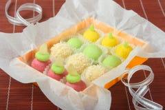 Suikergoed in een doos Stock Foto