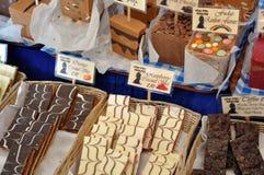 Suikergoed en chocolade Royalty-vrije Stock Fotografie