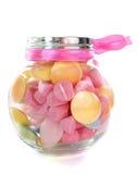 Suikergoed in fles Royalty-vrije Stock Fotografie