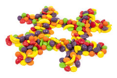 Suikergoed Hashtag Stock Foto