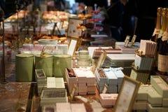 Suikergoed in Laduree Stock Foto's