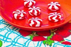 Suikergoed op een plaat Royalty-vrije Stock Fotografie