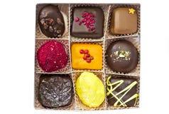 Suikergoed op een Witte Achtergrond Stock Foto