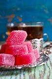 Suikergoed roze gelei Royalty-vrije Stock Afbeelding