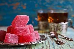 Suikergoed roze gelei Royalty-vrije Stock Afbeeldingen