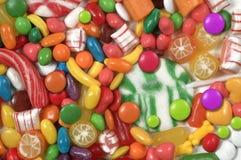 Suikergoed, suikergoed, suikergoed Stock Afbeelding