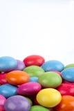 Suikergoed tegen een witte achtergrond Royalty-vrije Stock Foto