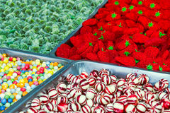 Suikergoed voor verkoop Stock Foto's