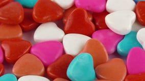 Suikergoed Zoete Jelly Lolly en Heerlijk Sugar Dessert stock footage