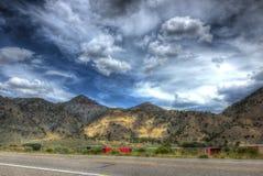 Suikergoedbergen, Marysvale, Utah Stock Foto