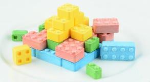 Suikergoedblokken Royalty-vrije Stock Foto