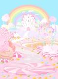 Suikergoedland vector illustratie