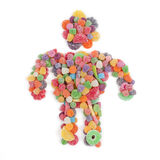 Suikergoedmens Royalty-vrije Stock Fotografie