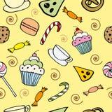 Suikergoedpatroon vector illustratie