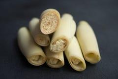 Suikerrietbloem royalty-vrije stock afbeeldingen
