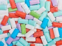 Suikervrije kauwgom royalty-vrije stock afbeeldingen