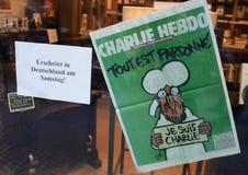 Suis Charlie de Je Fotografía de archivo