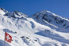 Suisse d'indicateur Photo libre de droits