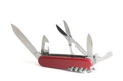 Suisse de couteau d'armée Photo libre de droits
