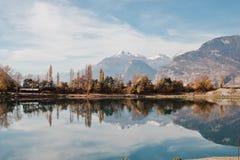 Suisse de Landescape Imagen de archivo libre de regalías