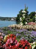 Suisse de ressource de Lugano Images stock