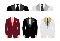 Suit royalty free illustration